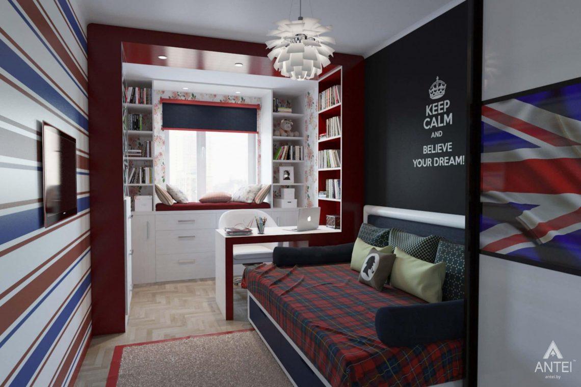 Дизайн интерьера квартиры в Гомеле, ул. Победы - кабинет фото №2