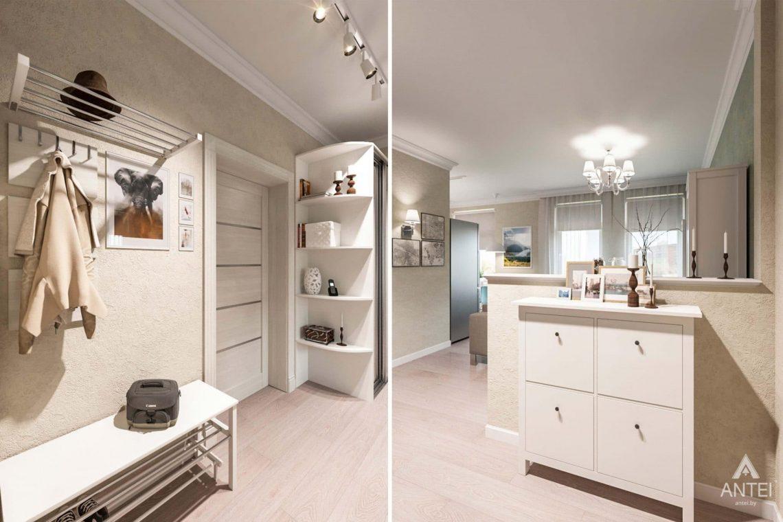 Дизайн интерьера квартиры в Светлогорске - прихожая фото №1