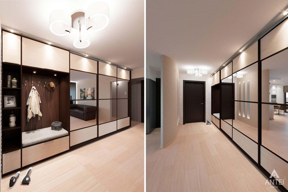Дизайн интерьера квартиры в Гомеле, ул. Ландышева, 14 - прихожая фото №1