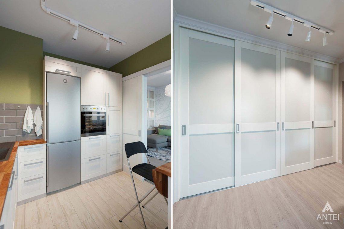Дизайн интерьера квартиры в Гомеле, ул.Денисенко - кухня фото №4