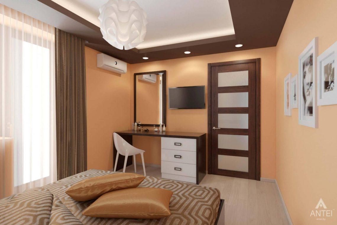 Дизайн интерьера квартиры в г. Гомеле, ул. Кожара, 55 - спальня фото №2