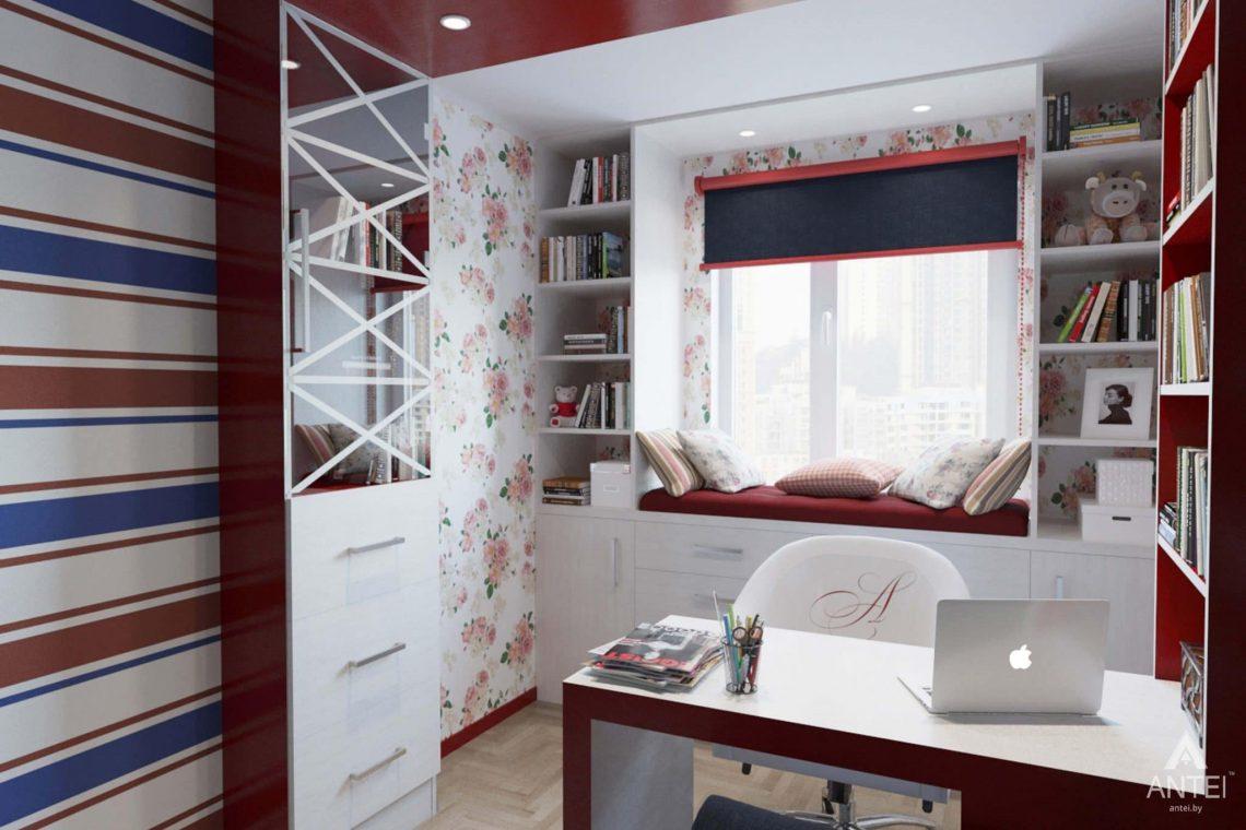 Дизайн интерьера квартиры в Гомеле, ул. Победы - кабинет фото №1