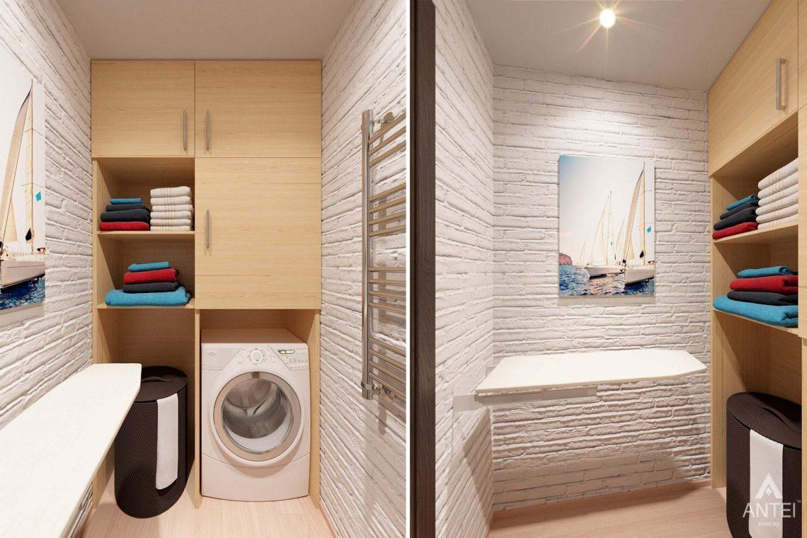 Дизайн интерьера квартиры в Гомеле, ул. Ландышева, 14 - гардеробная фото №1