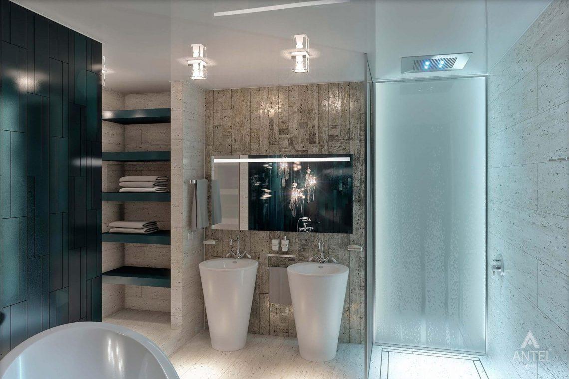 Дизайн интерьера пентхауса в Москве - санузел фото №4