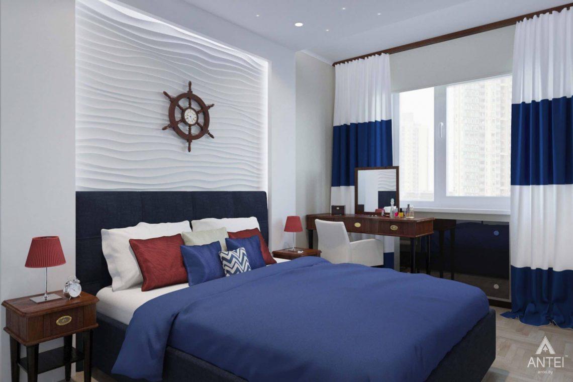 Дизайн интерьера квартиры в Гомеле, ул. Победы - спальня фото №1