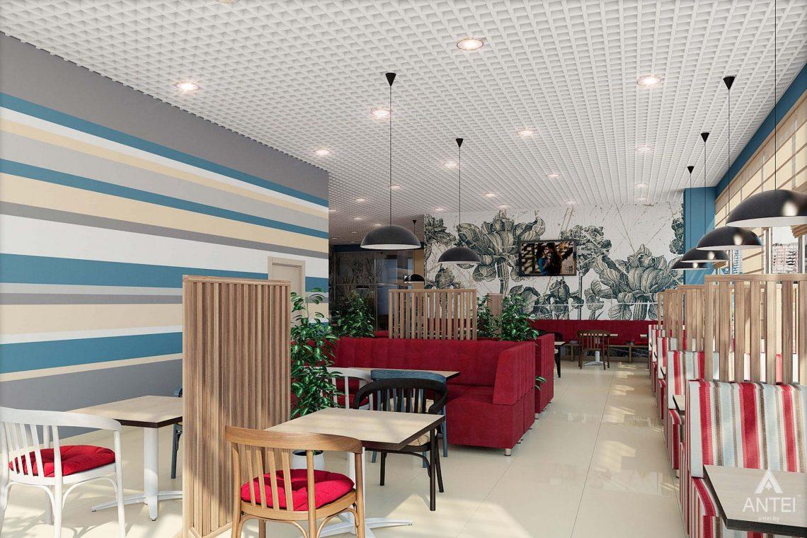 Дизайн интерьера пиццерии в Гомеле - фото №2