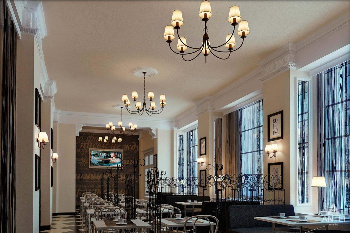 Дизайн интерьера кафе в Гомеле - фото №6