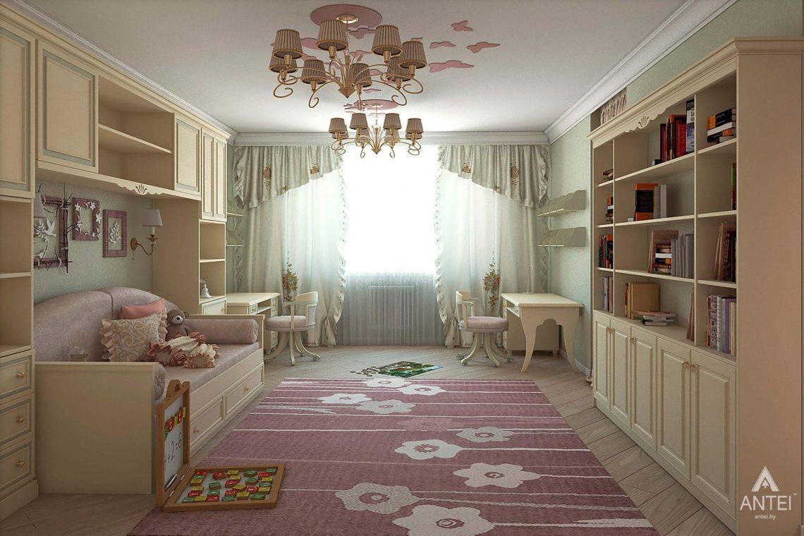 Дизайн интерьера таунхауса в России - детская комната фото №3