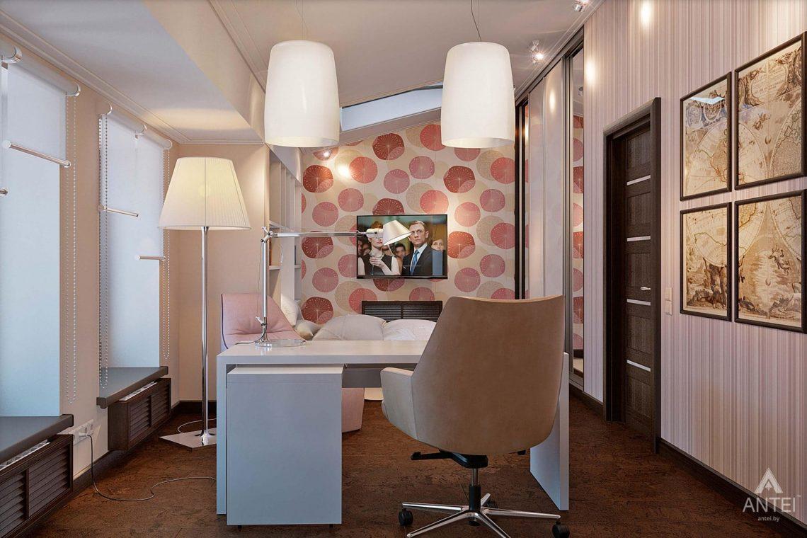 Дизайн интерьера загородного дома в Сургуте, Россия - детская комната фото №3
