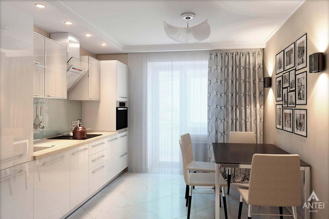 Дизайн интерьера квартиры в России, г. Клинцы - кухня фото №1