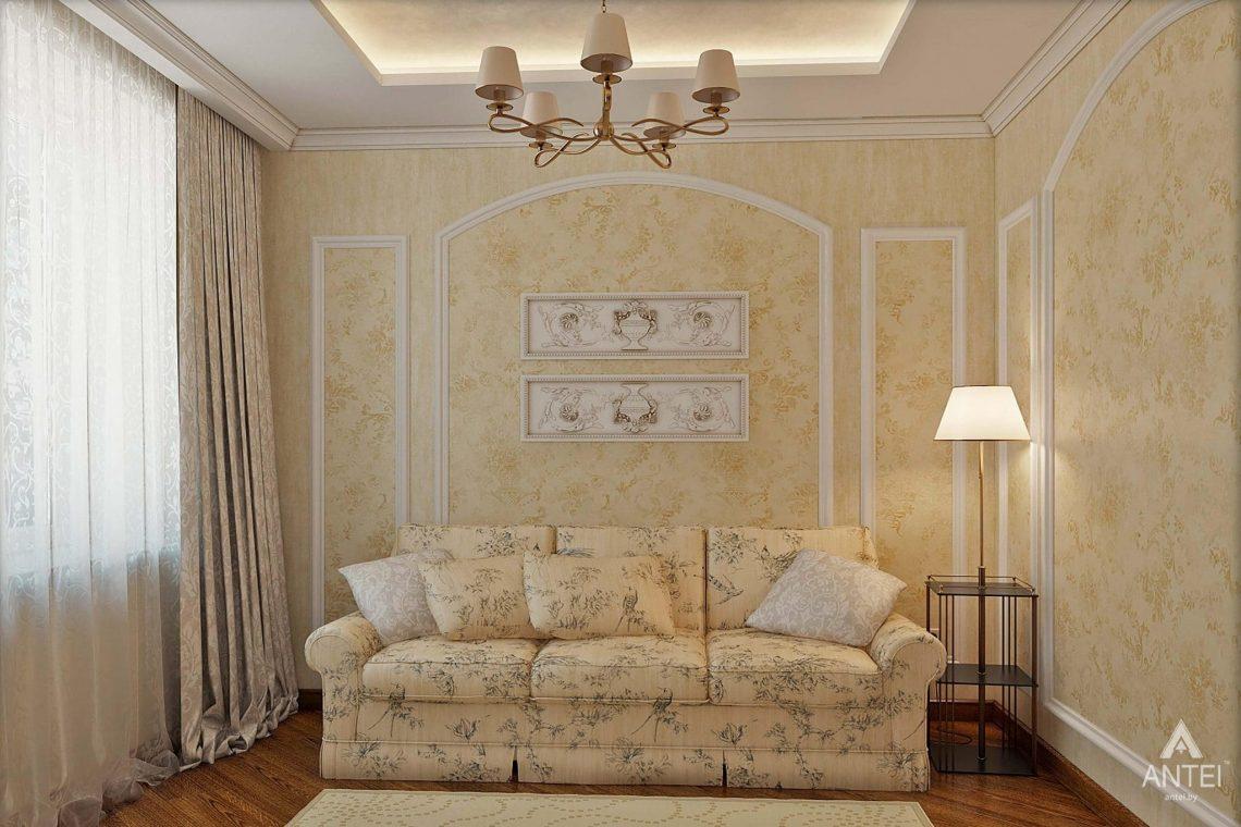 Дизайн интерьера таунхауса в России - кухня-гостиная фото №4