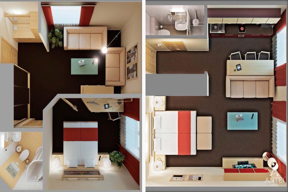 Дизайн интерьера гостиницы в г. Клинцы, Россия - фото №19