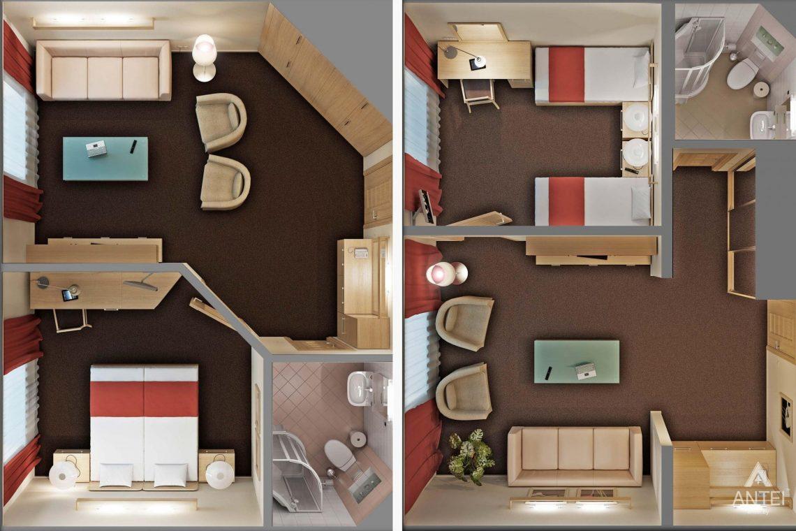 Дизайн интерьера гостиницы в г. Клинцы, Россия - фото №21