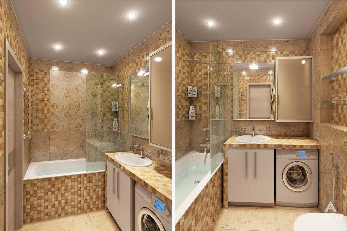 Дизайн интерьера квартиры в Гомеле - ванная фото №1