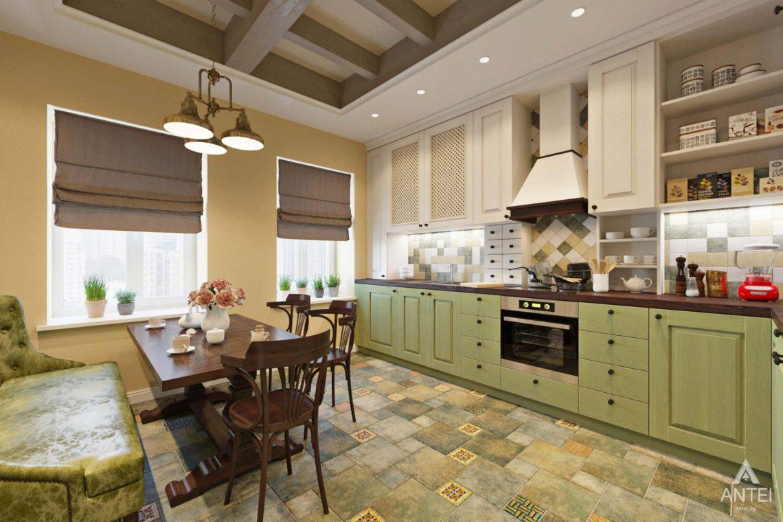 Дизайн интерьера квартиры в Гомеле, Проспект Ленина, 51 - кухня фото №1