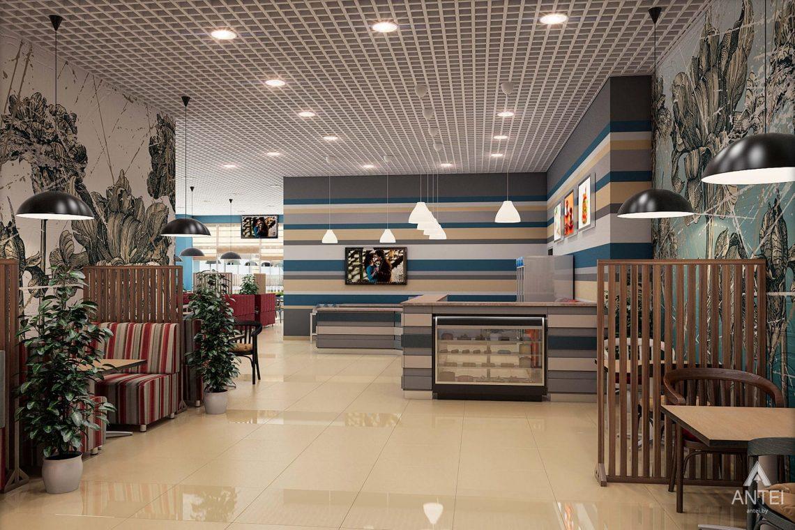 Дизайн интерьера пиццерии в Гомеле - фото №1