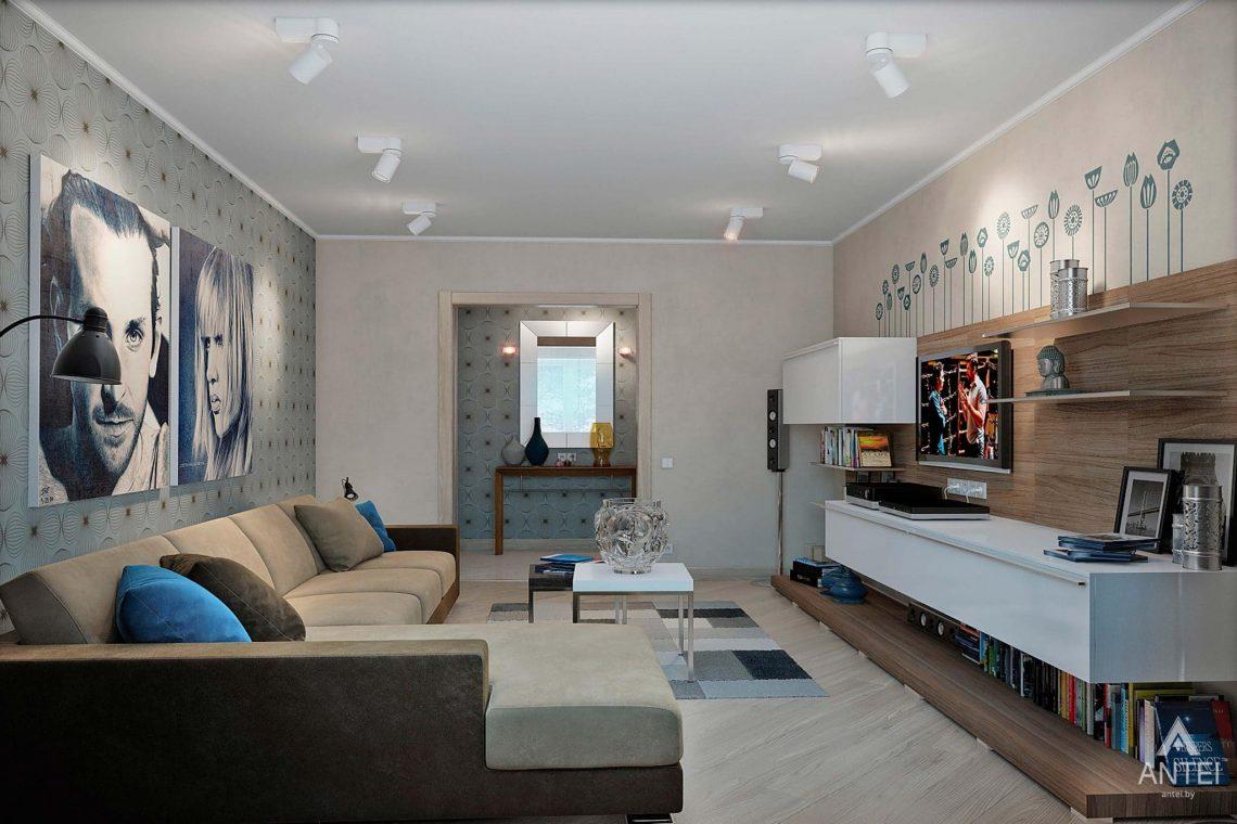 Дизайн интерьера квартиры в России, г. Клинцы - гостиная фото №2
