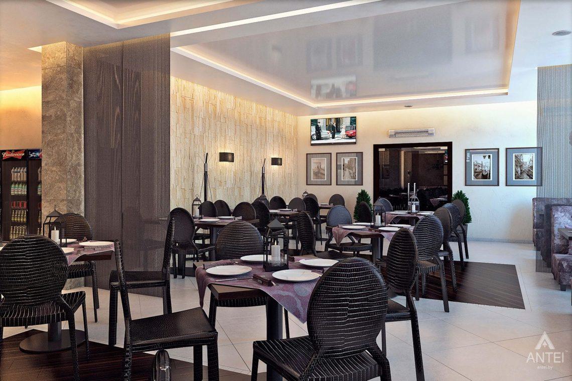 Дизайн интерьера пиццерии в Гомеле - фото №3