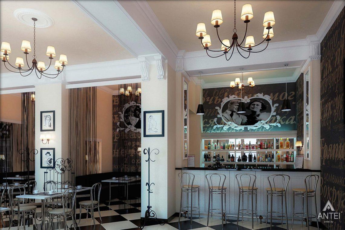 Дизайн интерьера кафе в Гомеле - фото №5
