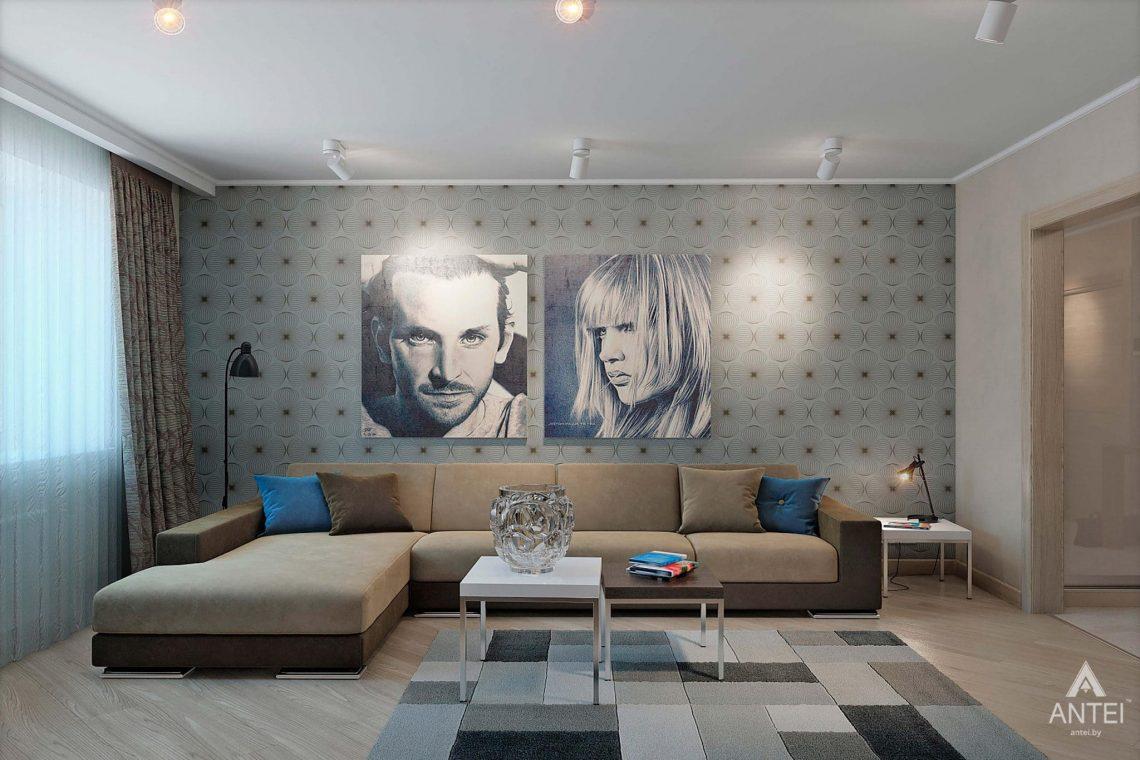 Дизайн интерьера квартиры в России, г. Клинцы - гостиная фото №1