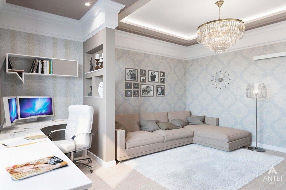 Дизайн интерьера квартиры в Минске, ул.Короля - гостиная фото №2