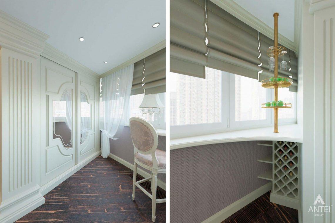 Дизайн интерьера квартиры в Гомеле, ул. Кожара, 59а - гостиная фото №2
