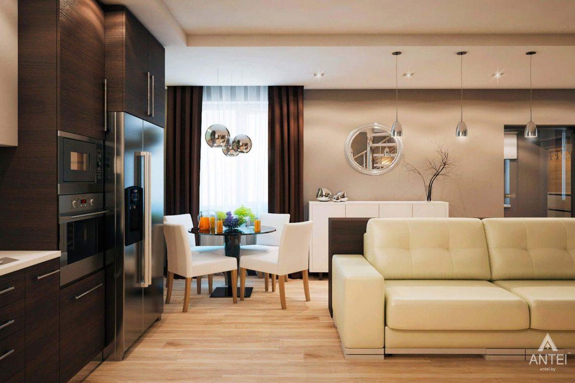Дизайн интерьера загородного дома в Речице - фото №3