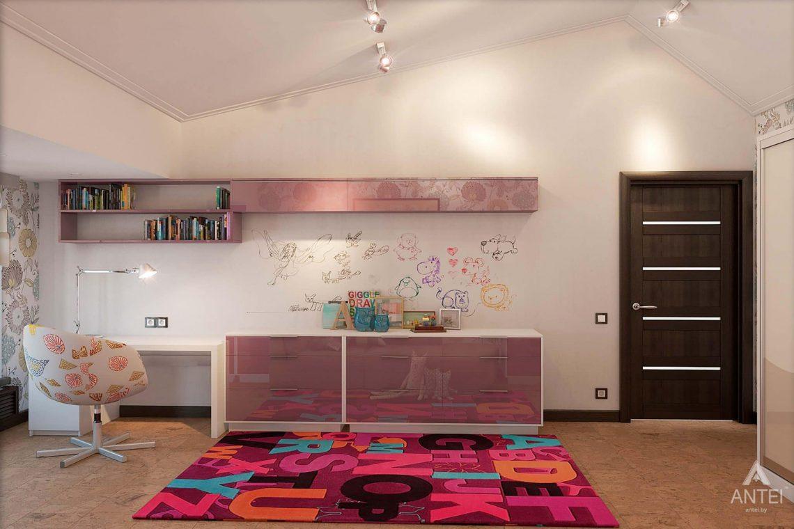 Дизайн интерьера загородного дома в Сургуте, Россия - детская комната фото №2