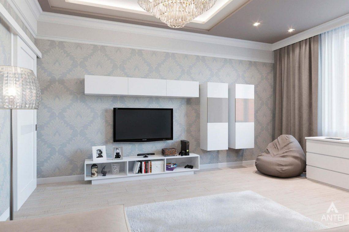 Дизайн интерьера квартиры в Минске, ул.Короля - гостиная фото №3