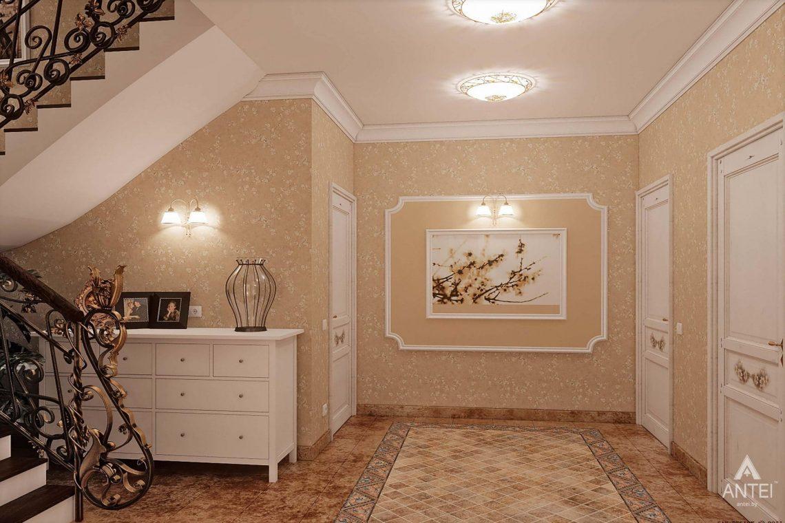 Дизайн интерьера таунхауса в России - холл фото №1