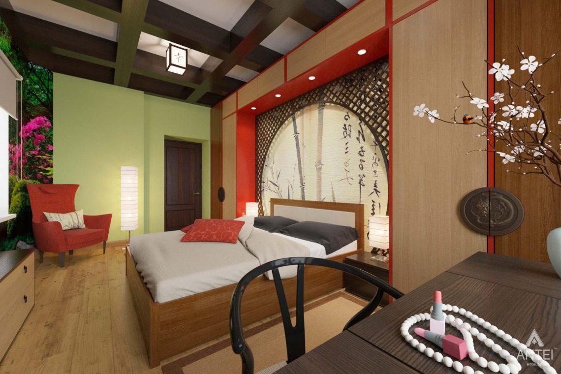 Дизайн интерьера квартиры в Гомеле, Проспект Ленина, 51 - спальня фото №1