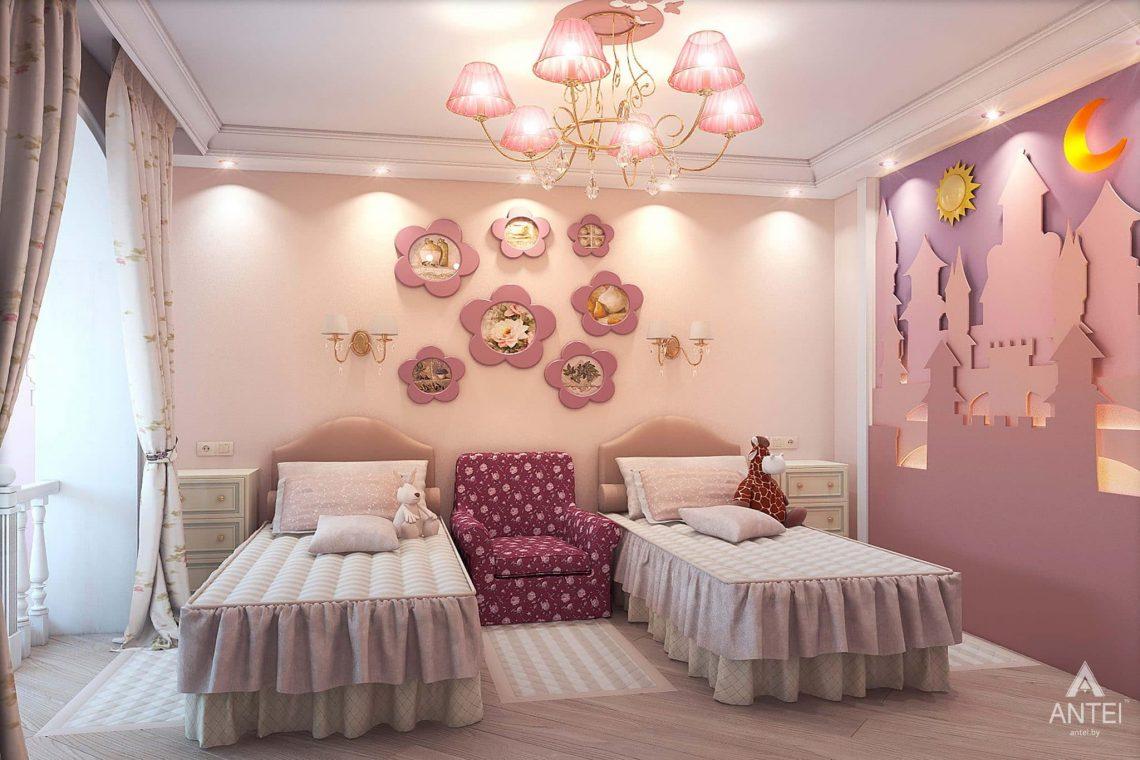 Дизайн интерьера таунхауса в России - детская комната фото №1