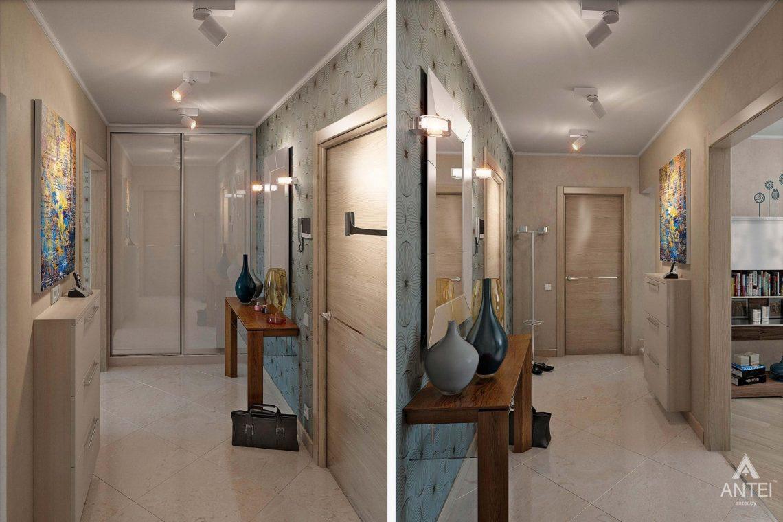 Дизайн интерьера квартиры в России, г. Клинцы - прихожая фото №1