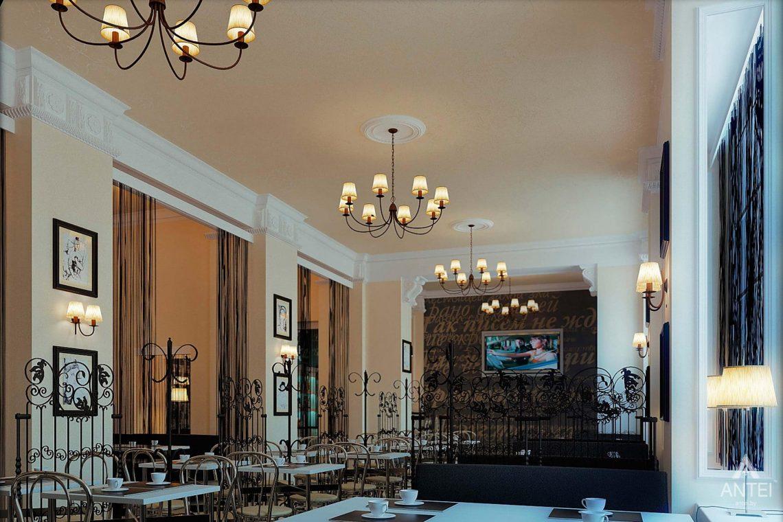 Дизайн интерьера кафе в Гомеле - фото №3