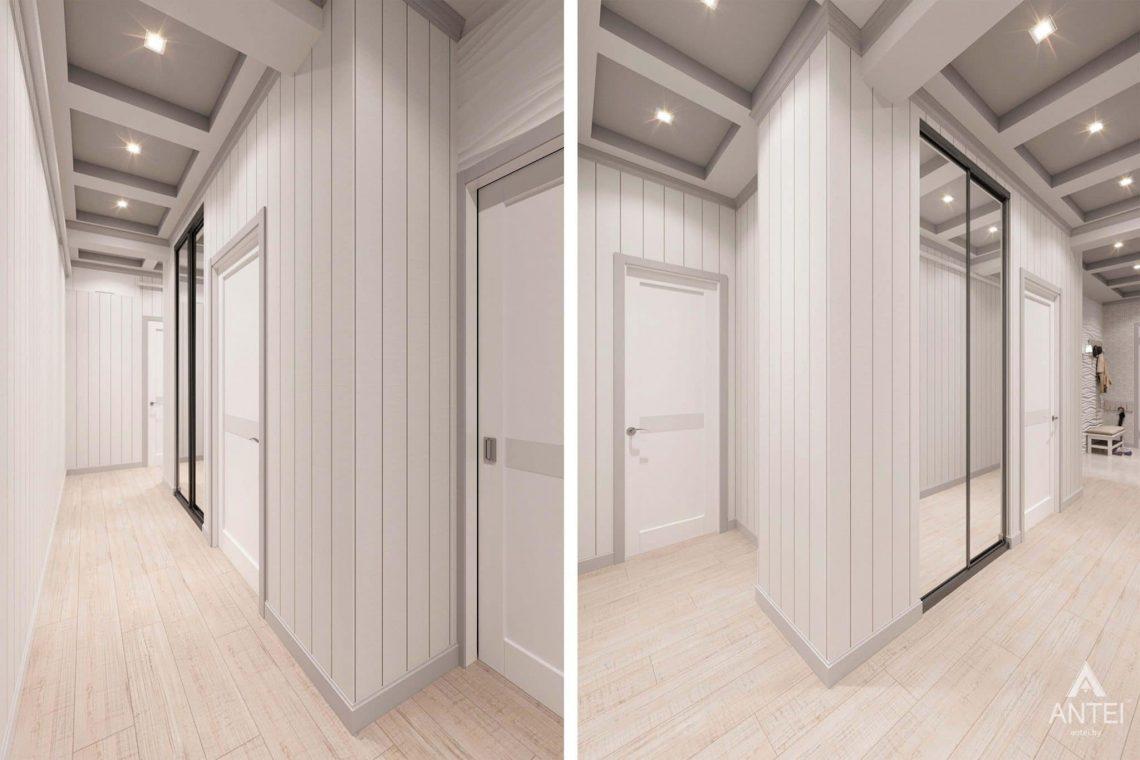 Дизайн интерьера квартиры в Минске, ул.Короля - прихожая фото №1