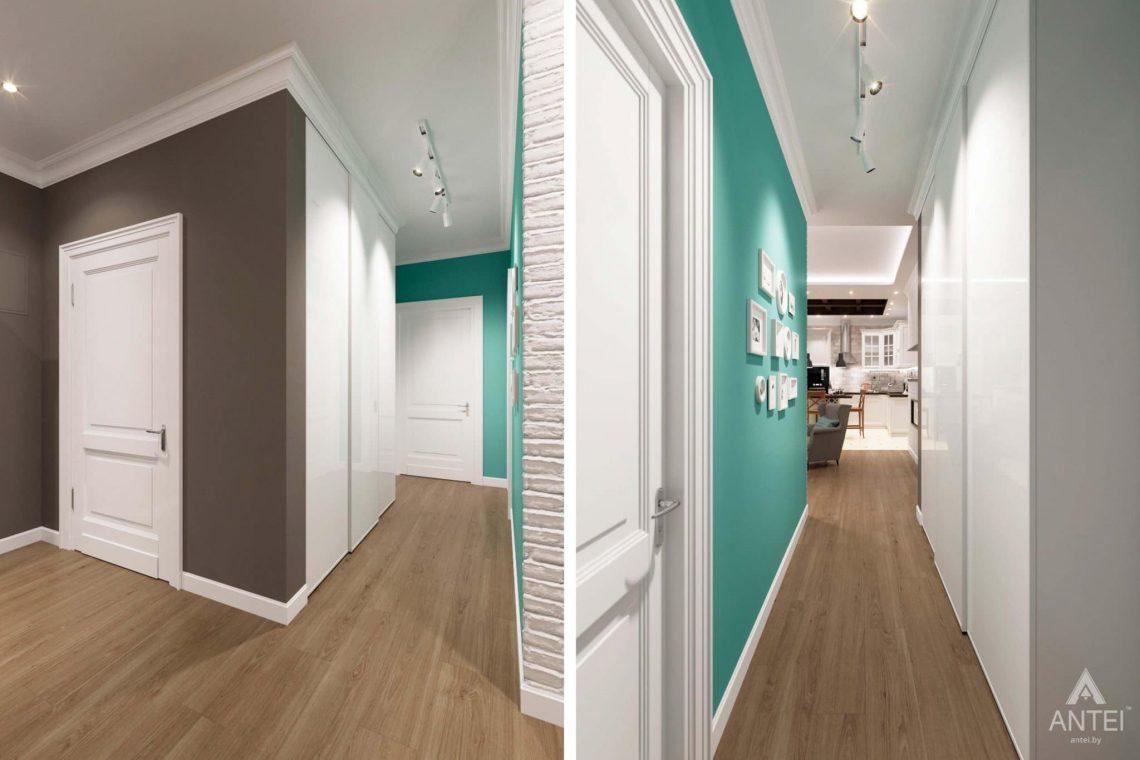 Дизайн интерьера трехкомнатной квартиры в Гомеле, ул.Тельмана - прихожая фото №2