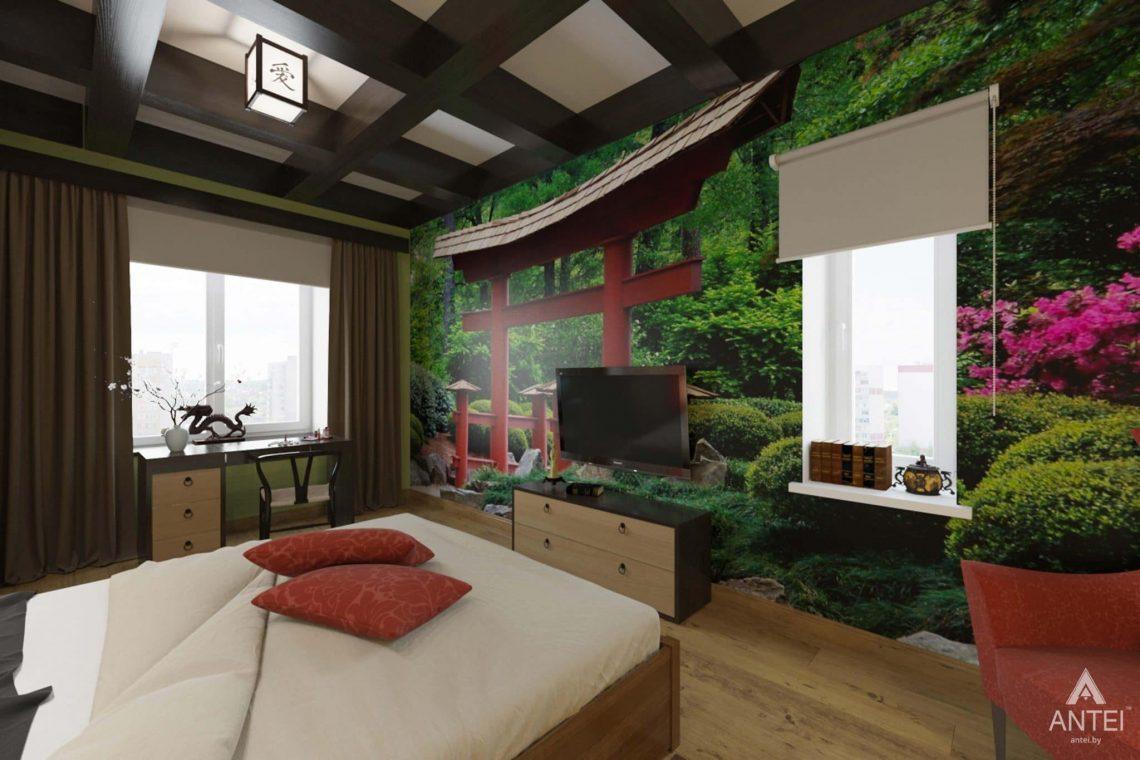Дизайн интерьера квартиры в Гомеле, Проспект Ленина, 51 - спальня фото №3