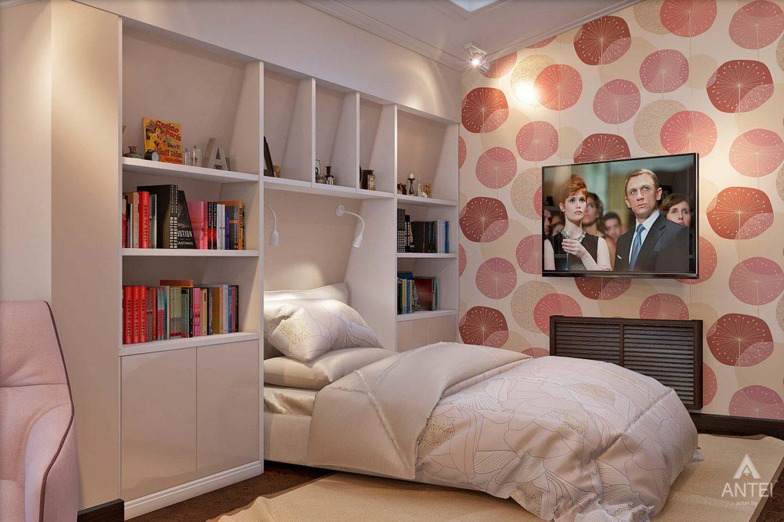 Дизайн интерьера загородного дома в Сургуте, Россия - детская комната фото №4