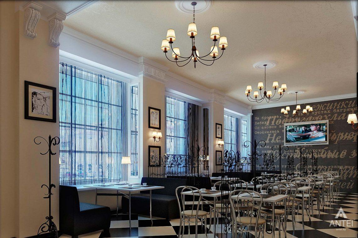 Дизайн интерьера кафе в Гомеле - фото №1