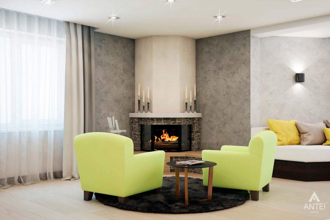 Дизайн интерьера загородного дома в Речице - фото №7