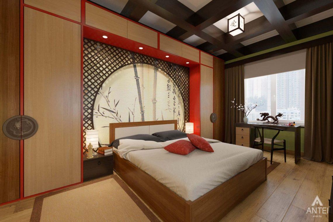 Дизайн интерьера квартиры в Гомеле, Проспект Ленина, 51 - спальня фото №2