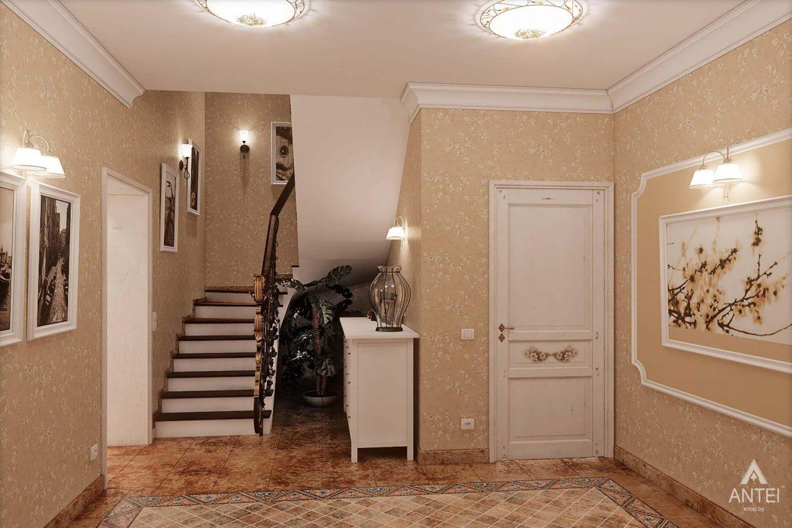 Дизайн интерьера таунхауса в России - холл фото №2