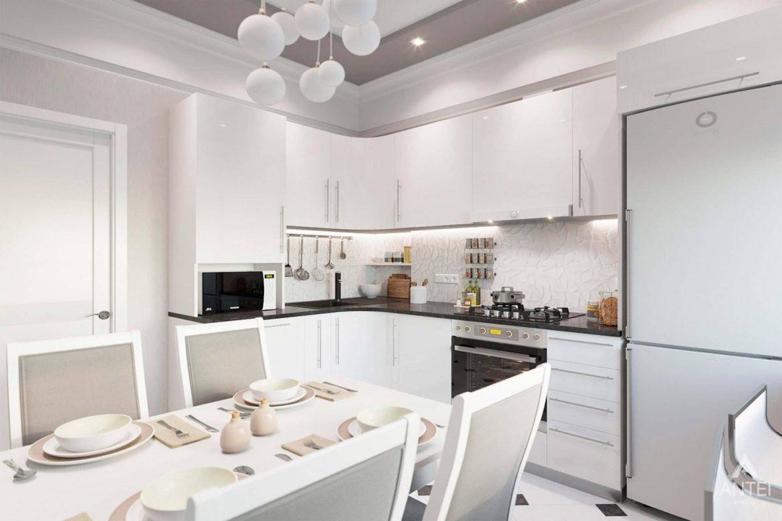 Дизайн интерьера квартиры в Минске, ул.Короля - кухня фото №1