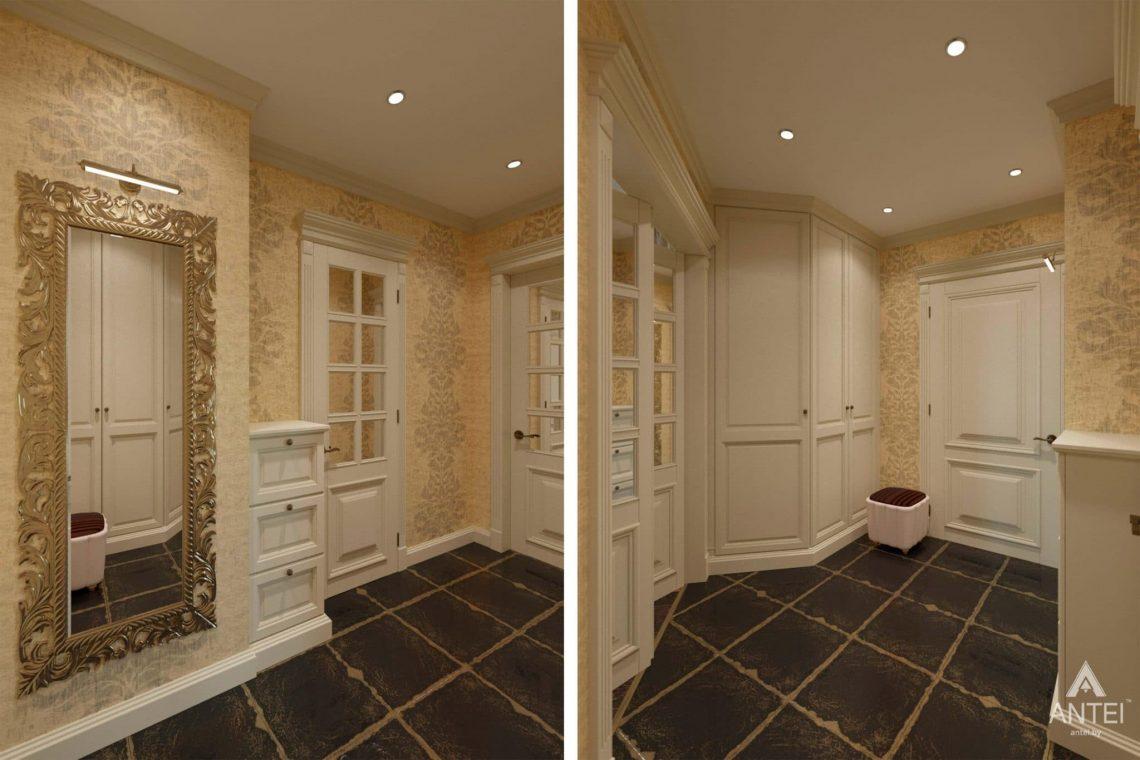 Дизайн интерьера квартиры в Гомеле, ул. Кожара, 59а - прихожая фото №1