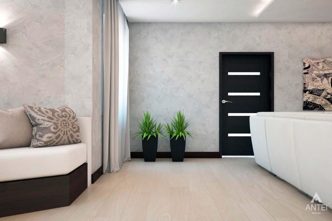 Дизайн интерьера загородного дома в Речице - фото №8