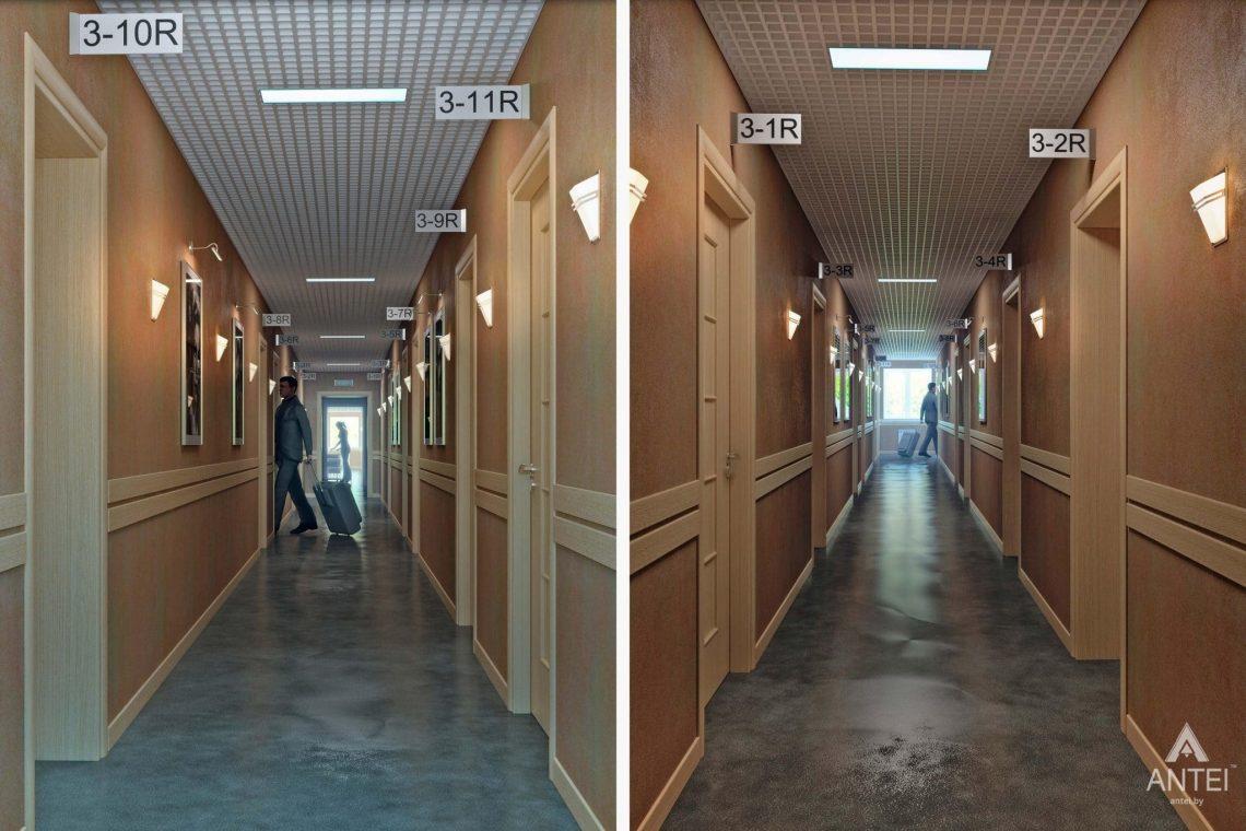 Дизайн интерьера гостиницы в г. Клинцы, Россия - фото №4