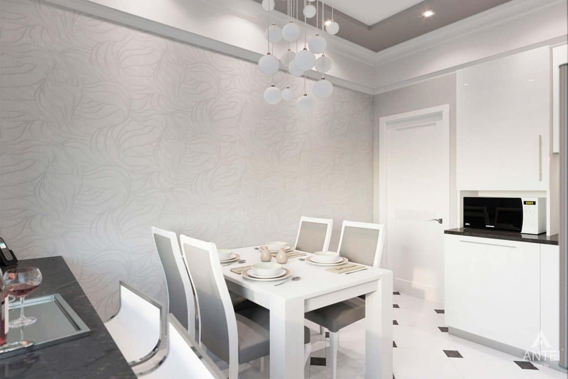 Дизайн интерьера квартиры в Минске, ул.Короля - кухня фото №3
