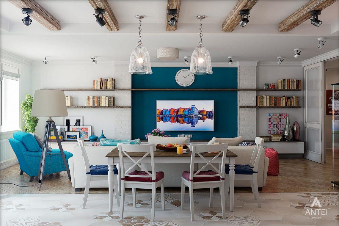 Дизайн интерьера квартиры в Минске - гостиная фото №4
