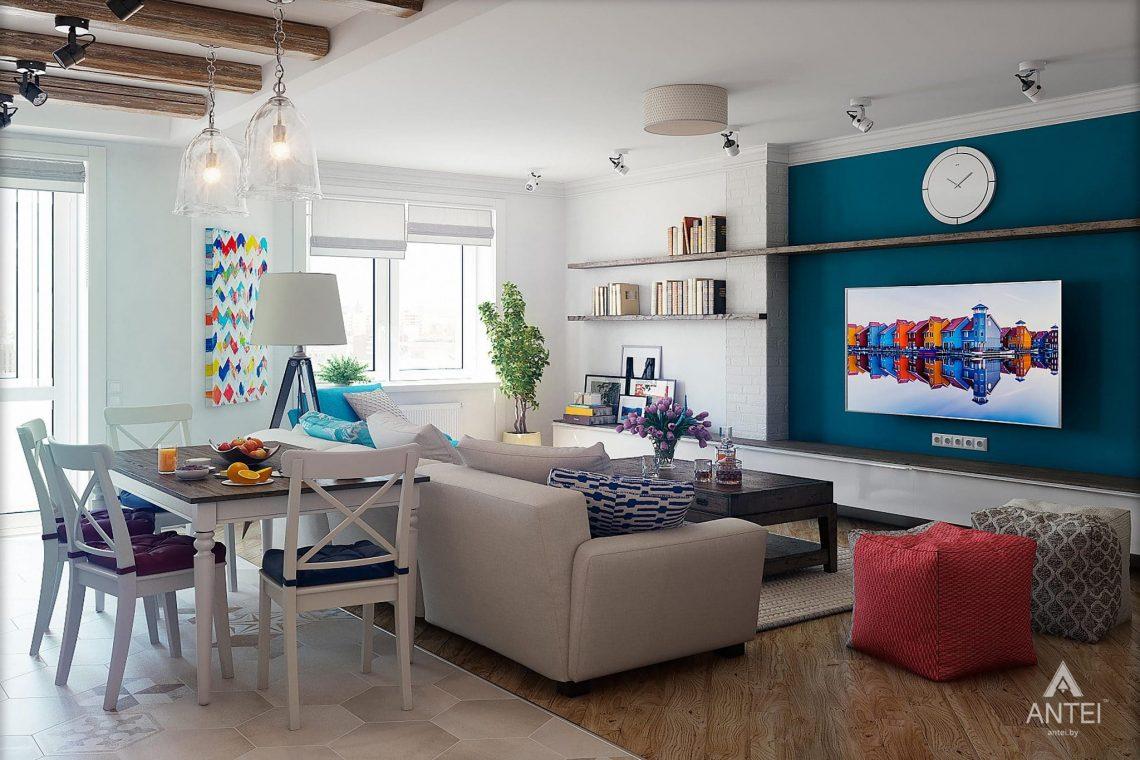 Дизайн интерьера квартиры в Минске - гостиная фото №5