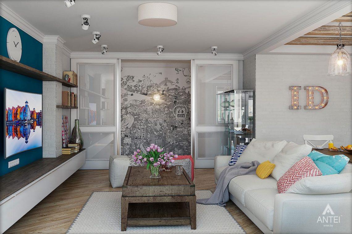 Дизайн интерьера квартиры в Минске - кухня фото №6